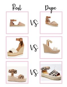 Spring shoe dupes you need spring 2021! Chloe Wedges, Chloe Shoes, Most Popular Shoes, Steve Madden Heels, Autumn Fashion, Spring Fashion, Spring Shoes, Dupes, Stylish Girl