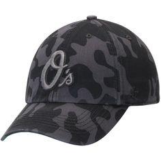 Men s Baltimore Orioles  47 Charcoal Flintlock Franchise Fitted Hat 807af5d8d09f