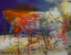 Jane Monica Tvedt - Empire of heart: Meditative sketching, autumn colors