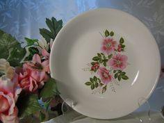 Sabin China Pink Floral Bowl