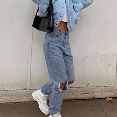 club Wood Working Mode Site - My Life ceaft Pinliy Aesthetic Fashion, Look Fashion, 90s Fashion, Aesthetic Clothes, Fashion Clothes, Fashion Outfits, Moda Aesthetic, Fashion Ideas, Winter Fashion