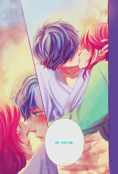 ao haru ride, manga, and anime image Anime W, Anime Kiss, Anime Couples Manga, Cute Anime Couples, Manga Couple, Manga Love, Anime Love, Kuroko, Boruto