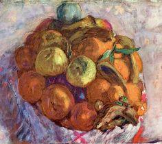 "Pierre BONNARD ""Corbeille de fruits"""