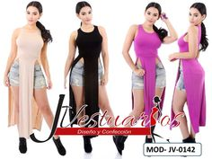 2355e7851578 Vestidos Casuales Para Damas - Blusones Largos - Sobretodos - Bs. 12.900