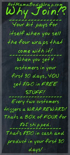 Want to tighten, tone and firm your skin? Or hope for better energy? Offering body applicators, herbal supplements and creams. To find out more information you can contact me at Http://www.behindthewrap.com