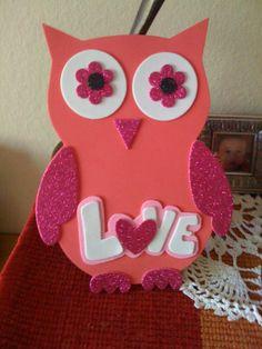 valentine owl craft free preschool crafts - 736×981