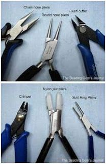 Jewelry Making Tools and how to use them. Cool!