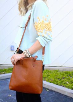 Madewell  Bag —The Zip Transport Tote TOP IT OFF