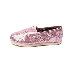 Shop for Infant TOMS Classic Glitter Slip-On Casual Shoe in Pink at Journeys Kidz. Shop today for the hottest brands in mens shoes and womens shoes at JourneysKidz.com.A TOMS Classic Slip-On for the tiniest of feet. Bedazzled with glitter for that extra shimmer. Hook and loop strap fastener, soft and comfy suede insole, and protective durable outsole.