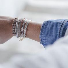Bracelets Guanabana Handmade - All designs are registered #guanabanahandmade #bracelets #pulseras #argantinas