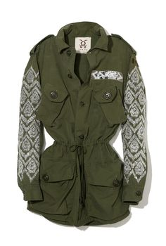 Figue recycled military jacket