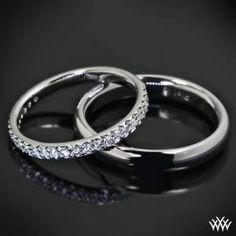 his & hers  #wedding #weddingrings #rings
