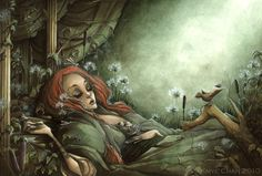 The Sleeping Beauty by *KmyeChan (DO NOT COPY, USE, OR REDISTRIBUTE)