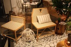 Designs like these are typical of the outdoor styles from this region.