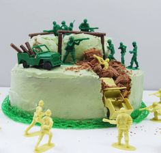Are you interested in our Army Birthday theme? With our boys birthday cake you need look no further.