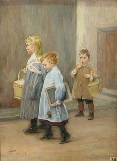 Henry Jules Jean Geoffroy - Lunchtime already?, 1883
