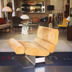 François Monnet Easy Chair edited by Kappa, at the end of the 60s For sale at the shop!