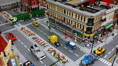 Lego City Airport, City Layout, Lego Building, Lego Ideas, Legos, Buildings, Lego Creations, The Creation, Toys