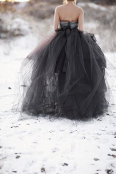 Black weddingdress