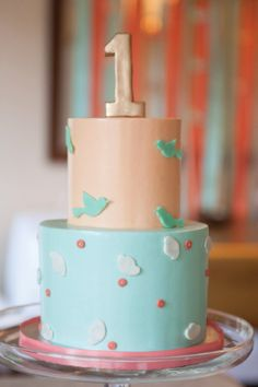 This Birdie First Birthday theme is perfect for your little one's springtime birthday! From little, homemade birdhouses to bird-shaped cookies, this party theme just screams spring.