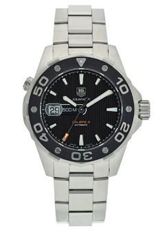 Deals for TAG Heuer Men's Aquaracer Calibre 5 Automatic Watch Cool Watches, Rolex Watches, Watches For Men, Wrist Watches, Sport Watches, Swiss Luxury Watches, Luxury Watch Brands, Rubber Watches, Tear