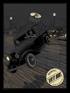 The Avett Brothers - Indianapolis, IN Gig Poster - by Charles Crisler / 27designco.com