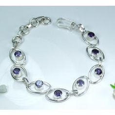 Beautiful amethyst bracelet