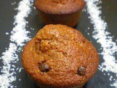 Muffins choco-coco (2.5 pts ww), Recette Ptitchef