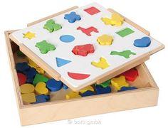 Zuordnungsspiel Farben und Formen Kreatives Sortierspiel 110916
