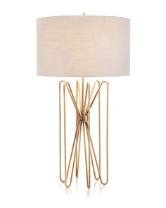 Antique Brass Butterfly Table Lamp - Portable Lighting - Lighting - Our Products