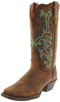 Justin Boots Women`s 13 Stampede Boot for only $66.77 You save: $73.23 (52%) + Free Shipping