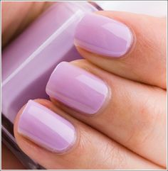 Essie Nice is Nice. I don't ordinarily like lilac shades, but this is lovely!
