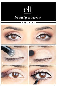 Hi Elfette! If you're starting to get those comfy sweaters and boots out for fall, it's definitely time to update your makeup to match. It can be confusing to try to match your makeup to a season, but don't worry! My look above will work on many skin tones and is easy to achieve!