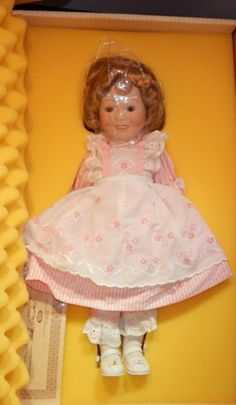 Ideal Porcelain Shirley Temple Doll 1983