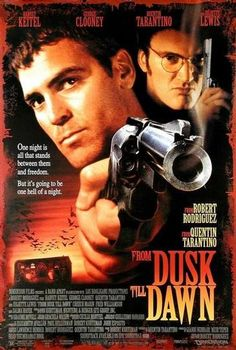 "From Dusk Till Dawn - Une nuit en enfer Un road movie d'anthologie qui prend un virage à 180° à la moitié du film ! An incredible road movie that takes a ""U-turn"" after 45 minutes !"