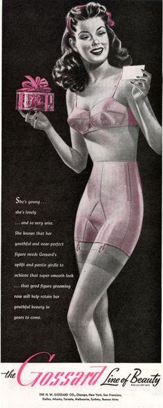 Vintage Lingerie Advertisements 32