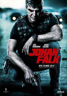 'Johan Falk' with Joel Kinnaman and Jakob Eklund.       -------      http://www.imdb.com/title/tt0198837