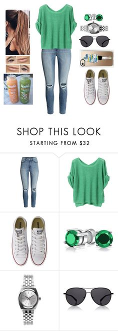 """""""Exotic Taste"""" by teodoramaria98 ❤ liked on Polyvore featuring H&M, Mackintosh Philosophy, Converse, Bling Jewelry, Nixon and The Row"""