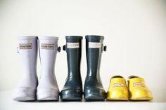 A Hunter Kids collection! Hunter Kids, Kids Wardrobe, Rugrats, Kids Corner, Hunters, Hunter Boots, Rubber Rain Boots, Style Me, Children