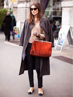 How to Look Taller in Flat Shoes