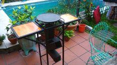 Cocina Rocket - $ 8.300,00 en Mercado Libre Rocket Stoves, Outdoor Furniture Sets, Outdoor Decor, Patio, Table, Fire Pits, Pizza, Home Decor, Metal