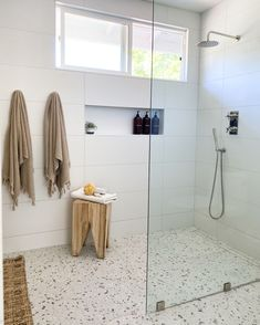 envy with this superb layout from . Bathroom Floor Tiles, Bathroom Renos, Laundry In Bathroom, Bathroom Renovations, Bathroom Layout, Small Bathroom, Master Bathroom, Dream Bathrooms, Family Bathroom