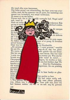 Princess Original illustration Fairytale by korneliaillustration, €15.00