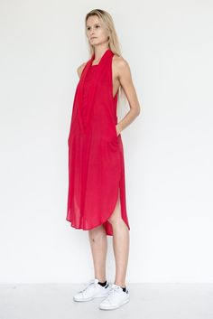 Rayon Shawl Dress