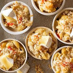 Macaroni with Brie and Crab From Better Homes and Gardens, ideas and improvement projects for your home and garden plus recipes and entertaining ideas.
