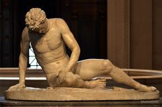 """I've been thinking about the ancient """"The Dying Gaul"""" for a while now and wanted to post some photos of it, from multiple angles, here on ArtDuh. It is a beautiful sculpture, and so very well done...."""