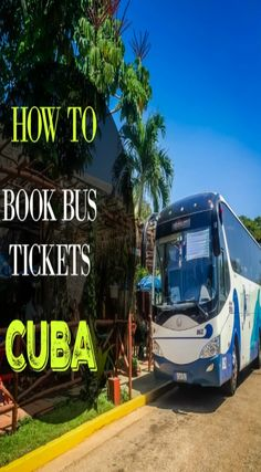 How to Book Bus Tickets in Cuba. Booking bus tickets in Cuba can seem like a daunting task and I'd be lying if I said it won't consume some of your precious vacation time. However, it is an affordable and efficient way to get around Cuba so it is worth the small amount of hassle you will encounter to purchase tickets for your routes. Click to read the full travel blog post at  http://www.divergenttravelers.com/how-to-book-bus-tickets-in-cuba/