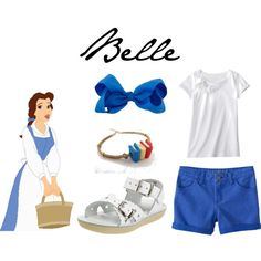 Belle Town Dress Inspired Casual Girl Outfit