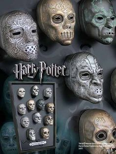 Harry Potter Death Eater Mask Collection $94.95