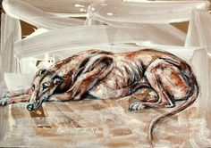 Martial Robin peintures Greyhound Art, Italian Greyhound, Martial, Skinny Dog, Most Beautiful Dogs, Robin, Greyhounds, Animals Images, Whippet